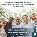 Dia Internacional da Terceira Idade - 2021