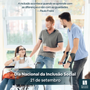 Dia Nacional da Inclusão Social - 2021