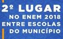 Colégio Piracicabano alcança 2º lugar no Enem 2018 entre escolas do município