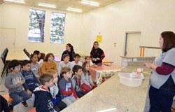 Com atividade minichef, alunos aprendem a preparar doces e aprimoram idioma inglês