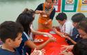 Com aula prática, alunos aprendem sobre a cultura e a culinária sul-coreana