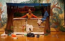 Com espetáculo teatral, alunos refletem sobre importância da água