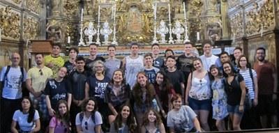 Estudantes aprofundam conhecimentos sobre história e geografia com viagem de estudos a Minas Gerais