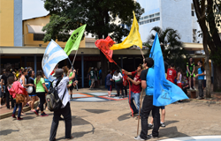 Gincana cultural e esportiva é um dos destaques da celebração de aniversário