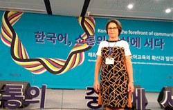 Profª Joselene Henriques, diretora do Colégio Piracicabano, participa de conferência na Coreia do Sul