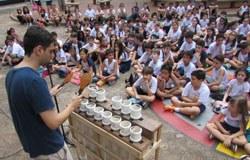 Projeto BatuCano ensina música de forma lúdica