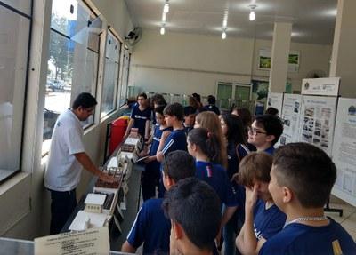 Alunos do Fundamental II visitam Barra Bonita