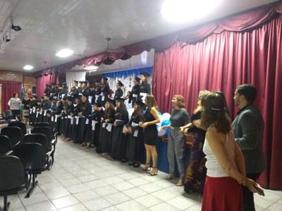 Alunos participam de transição para o Ensino Fundamental II