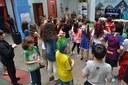 Diversão e parceria com a escola SAGA