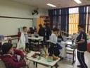 """4ºs anos organizam um """"comércio"""" em conclusão de tema de estudos de Geografia"""