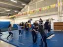 Alunos da Recreação realizam atividades de ginástica