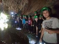 Alunos do Ensino Médio exploram cavernas e trilhas em atividade interdisciplinar