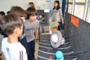 Após pesquisas, alunos dos 5ºs anos explicam o Sistema Solar para colegas de outras séries