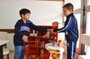 Brinquedos dos Espaços de Aprendizagem simulam situações do cotidiano