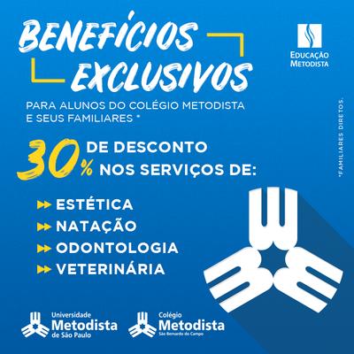 Colégio amplia parceria com Universidade e oferece desconto de 30% em serviços