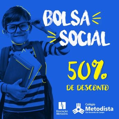Colégio Metodista está com inscrições abertas para Bolsa Social