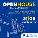 Colégio Metodista realiza 1º Open House em agosto