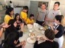 Colégio Metodista recebe grupo de alunos do Peru