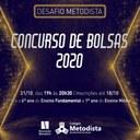 Desafio Metodista oferece bolsas para 2020