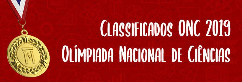 Classificados ONC 2019