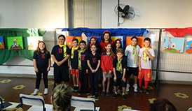 Alunos do 5º ano realizam vernissage sobre a obra O Pequeno Príncipe